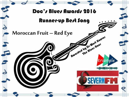 Severn FM's The Blues Hour - Runner-Up Best Song for 2016